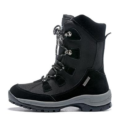 Unisex winter hiking boots ladies snow boots waterproof anti-skid skiing shoes men snow shoes plush lining outdoor hiking shoes for-40C