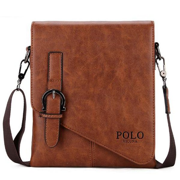 Men/'s PU Leather Messenger Satchel Bags Cross Body Tote Handbag Shoulder Bag