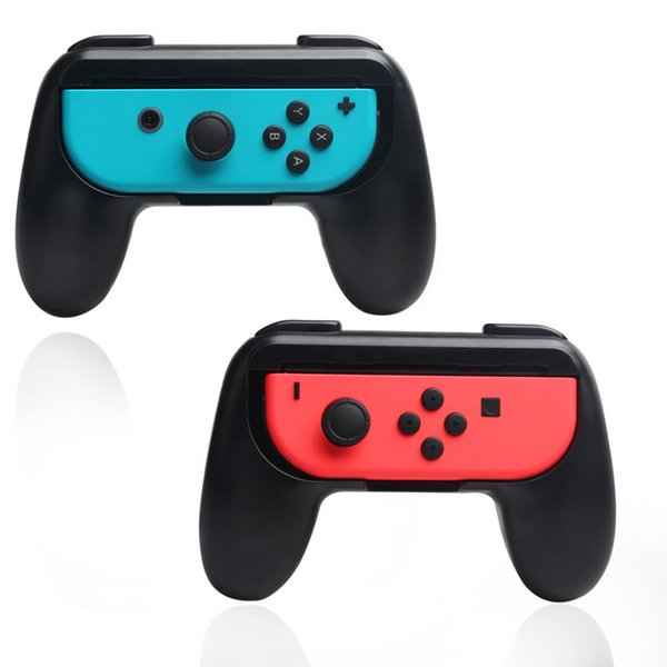 N-Switch Controller Grip for Switch Wear-resistant Joy-con Handle Stand Holder Protector With Retail Box 2pcs/set