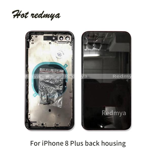 Melhor qualidade full housing para iphone 8 8g 8 plus voltar meio chassi habitação assembléia tampa da bateria para o iphone 8 plus voltar habitação