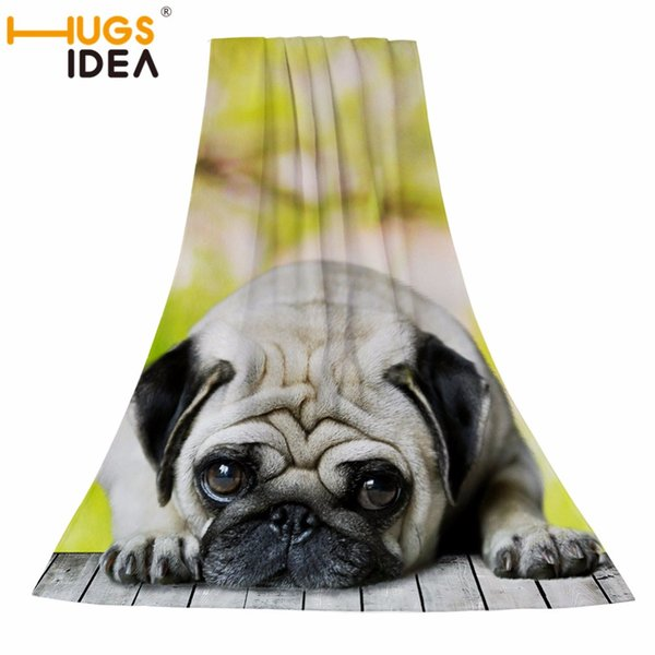 HUGSIDEA Absorbent Bath Towel 75*150cm Towel Dry Beach Towels Swimming Spa for Adult Cute Dog Cat Big towels fashion lady