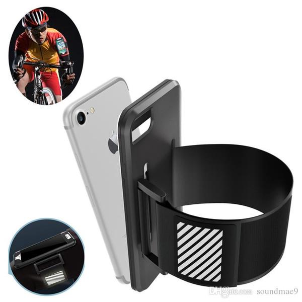 For Iphone 7 plus Sport Armband Running Case Cell Mobile Phone Running Bag Arm Band Bag Opp Bag