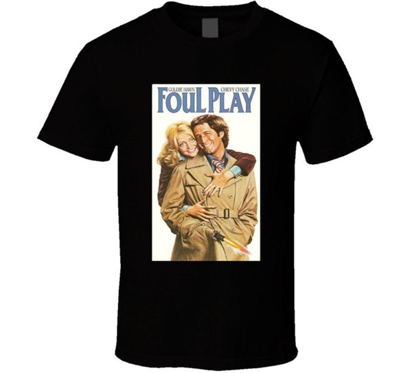 Foul Play Cool 70's Comedy Vintage Classic Movie Poster Fan T Shirt
