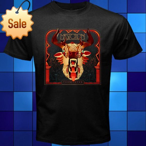 Newest 2018 New Mastodon The Hunter Metal Rock Band Black T-Shirt Size S M L XL 2XL 3XL Summer Style T shirt