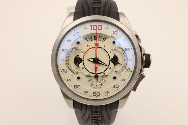 gute quarz china Silber fall verkaufen gut Chronograph marke männer uhr edelstahl uxury armbanduhr männer Uhren