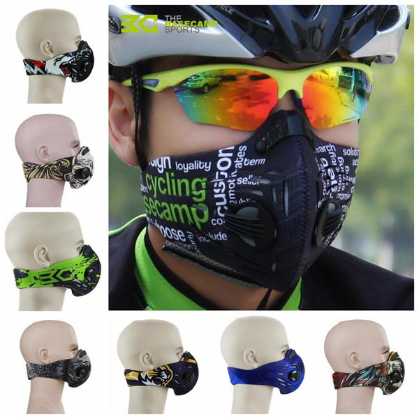 Satın Al Bisiklet Toz Geçirmez Maske Pm25 Aktif Karbon Anti