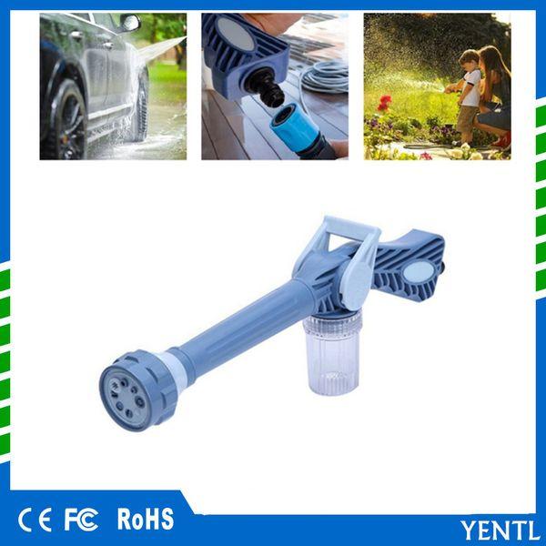 free shiping 8 In 1 high pressure water gun Garden Car Cleaning Spray Gun Sprayer Plastic Easy Use Ez Jet Water Cannon Turbo Sprayer Tools