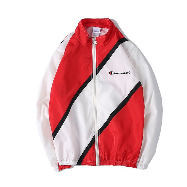 Compre 2018 Nueva Costura De Doble Capa Coat _ Black _ Red _m Xxl ...