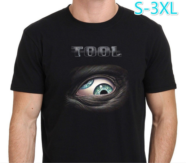 Design A Shirt O-Neck New Style Short Sleeve Mens Tool Lateralus Eye Logo Rock Band Men's Black T-Shirt Size:S-3XL Tee Shirt