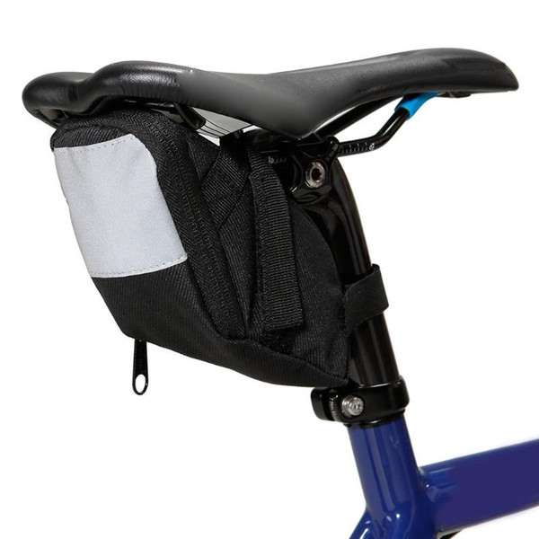 Waterproof Bicycle Saddle Bag Cycling Back Seatpost Bike Bags Pouch Rear Seat Tail Package Back Seat Pouch Outdoor Bicycle Bags