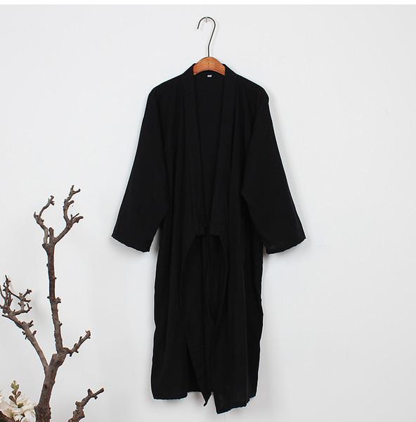 2018 summer traditional japanese kimonos men's japan cotton yukata men's lounge home clothing suits sleepwear pajamas
