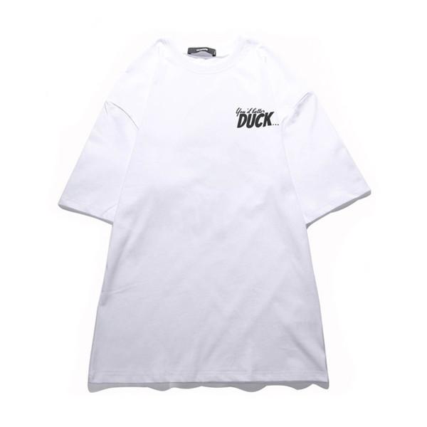 VIISHOW 2018 Duck Printed Mens T-shirts Fashion Cartoon Anime T Shirt Short Sleeve Tops Cotton T-shirt Men Funny Tshirt Homme