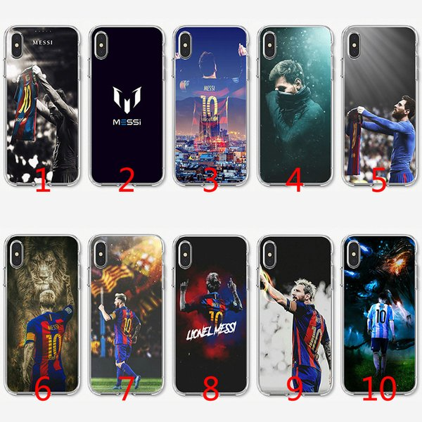 Messi football Soft Silicone TPU Case for iPhone X XS Max XR 8 7 Plus 6 6s Plus 5 5s SE Cover