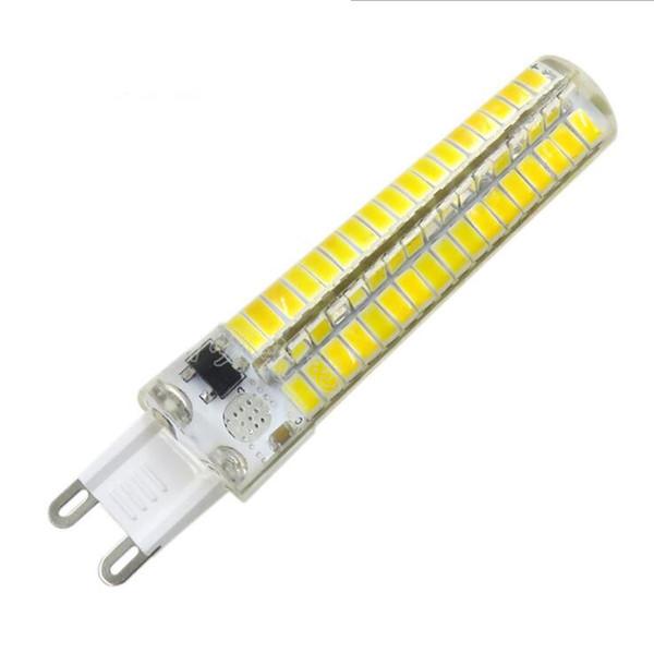 Lampe LED droite G9 Pin gel de silice 5730-136SMD AC110 / 220V Gradation 5W LED maïs ampoule lampe