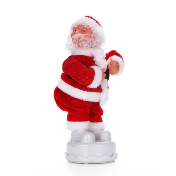 Weihnachten Elektrische Tanzen Musik Weihnachtsmann Puppe Xmas Party Baby Kinder Geschenke Wohnkultur # 25