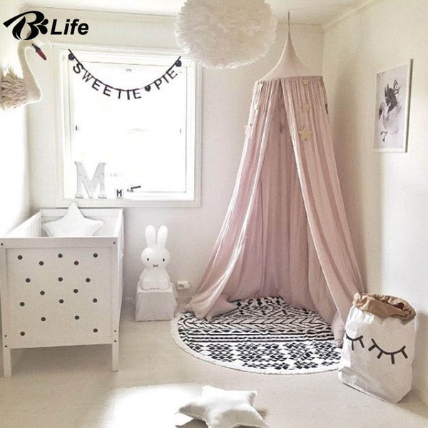Colorful Hot Sale Hanging Dome Play Tent Bed Curtain Tent Mosquito Net Baby Hung Teepees Play House Kids Room Decor