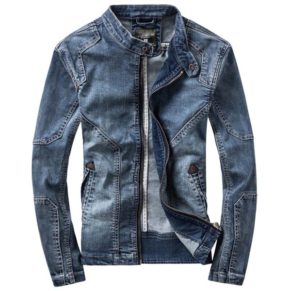 New Fashion Retro Classics Denim Jacket Men Vintage Clothes Casual Slim Jackets Men's Coat Jeans Jackets Plus Size M-3XL