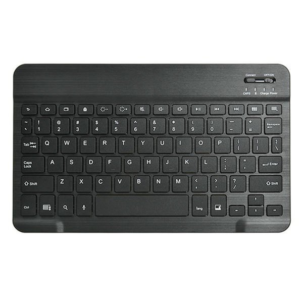 Universal 9 inches Bluetooth Wireless Keyboard for Tabs IOS&Android Windows Tablets/Desktop/Laptop Quiet Slim Keyboa