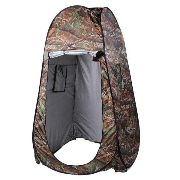 Tente de camping tente douche toilette avec Sac de voyage en plein air