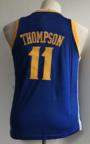 the latest e4cbd fe344 2018 Kids Golden State 30 Stephen Curry 35 Kevin Durant 23 Draymond Green  11 Klay Thompson Jersey Youth Boy 100% Stitched Jersey Kids Designer Shirts  ...