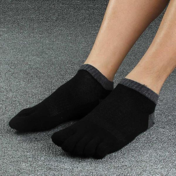 5pairs /Lot Men Socks Boys Cotton Finger Breathable Five Toe Socks Cotton Pure Sock Men 'S Cotton Short Socks