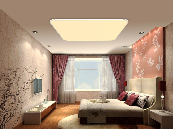 2017 Modern LED Ceiling Light With 2.4G RF Remote Control Dimmable Color Changing Lamp For Livingroom Bedroom