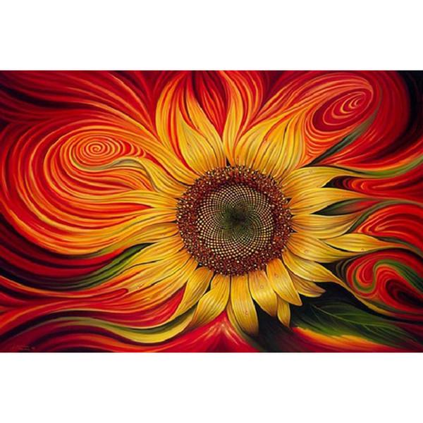 Sunflower 100% Full Drill Diamond Painting 5D Diamond Mosaic Cross Stitch Embroidery Handmade Home Decor (Free Shipping)