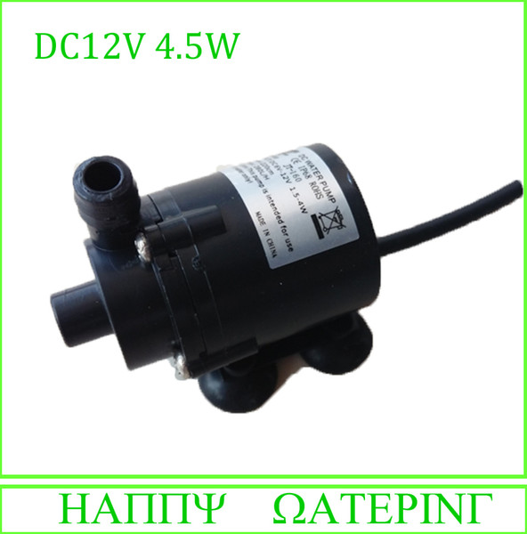 New Micro 12V DC Submersible Water Pump Mini Water Pump 150-280L/H Flow Can Be Used Under Water Diving And Land Type