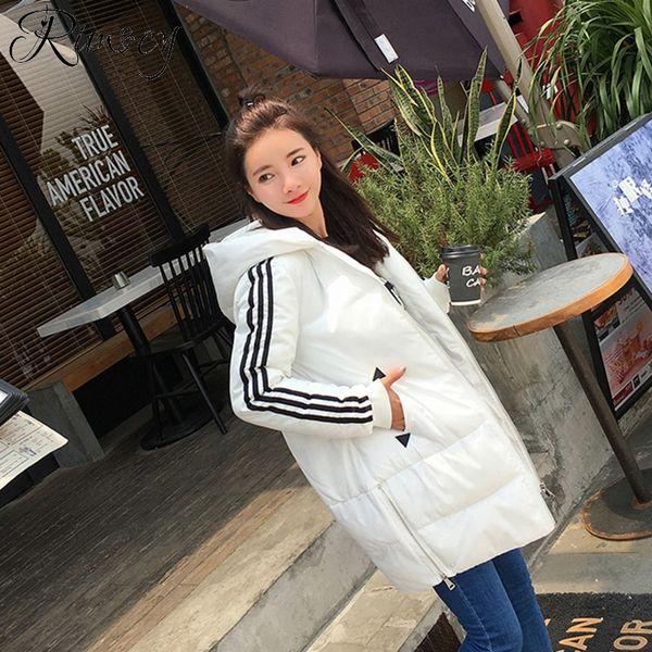 wholesale red parkas women long outwear ladies fashion hooded coat femme zipper warm long jacket mujer 2018 winter new thick coats