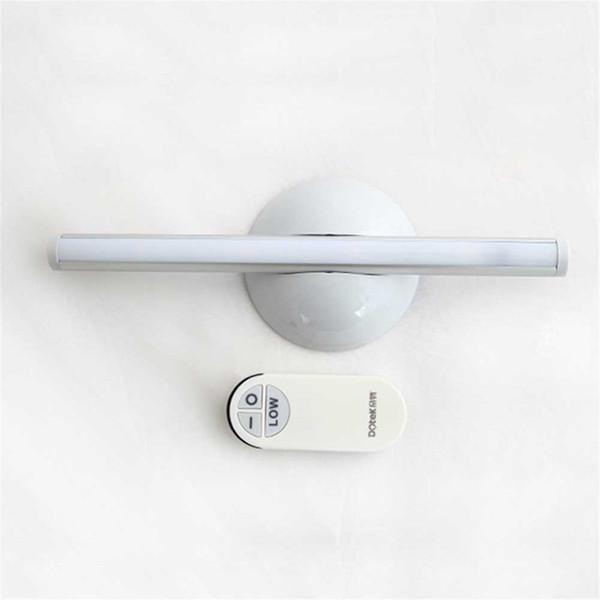 Criativo LED sem fio remoto noite luz lâmpada de cabeceira, pequeno candeeiro de mesa adequado para guarda-roupa guarda-roupa enfermeira - branco