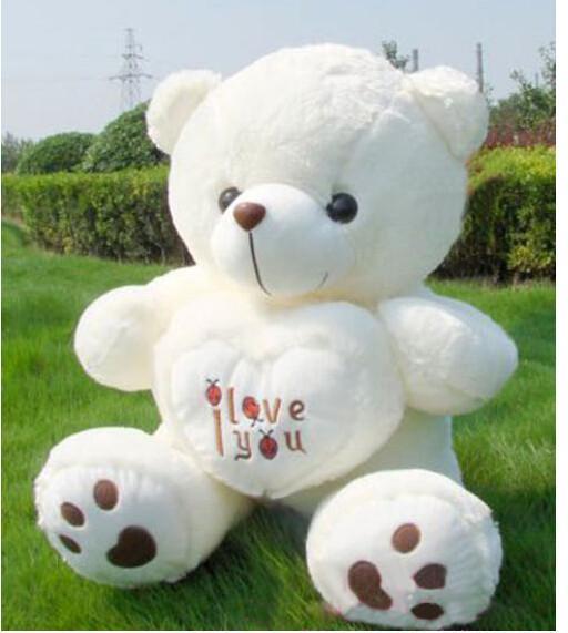 180cm Lebensgroße Teddybär Stofftier Plüsch Stofftiere riesige weiche Tiere Baby Puppen große Peluches Kind Puppe Weihnachtsgeschenk