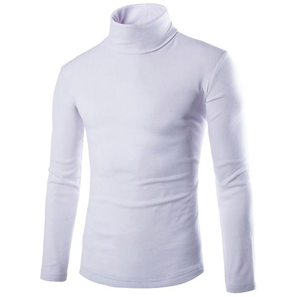 Camicia da uomo a maglia slim fit collo alto magliette a maglia slim fit top cardigan abbigliamento Asia taglia S M L Xl Xxxl