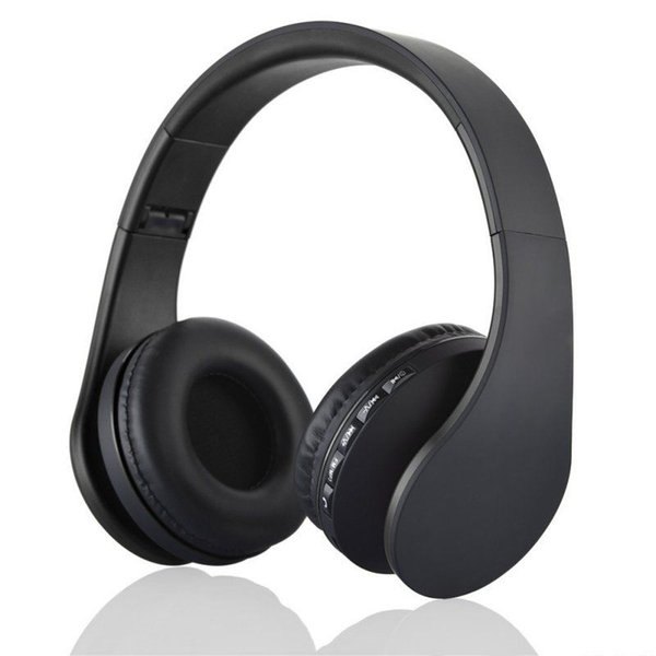 Wlngwear Bluetooth on-ear Headphone Wireless Stereo Headsets with Mic Support TF Card FM Radio for iPhone Samsung