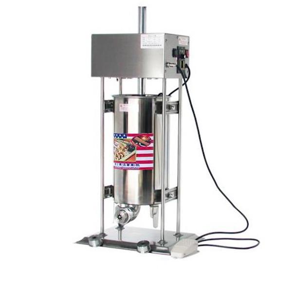 Máquina eléctrica automática de los churros comercial de los buñuelos de la máquina popular snack equipo de gran capacidad 15L fabricante de churros