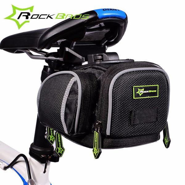 Rockbros Bike Bag Waterproof Mountain Road Bicycle Bag Reflective MTB Cycling Saddle Back Seat Accessories Bisiklet Aksesuar