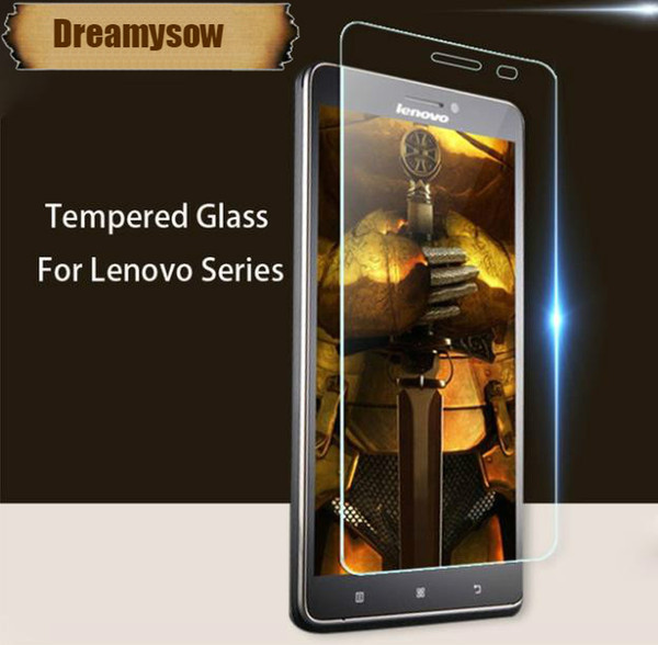 2.5D Tempered Glass For Lenovo K5 S850 P70 P780 Vibe P1 Shot A536 A1000 A2010 A6000 A7000 K3 Note Screen Protector 9H Cover Film