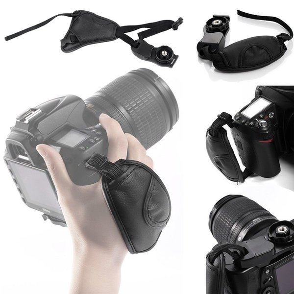 Camera Strap Hand Grip Wrist Strap Belt for Nikon Canon Sony DSLR Camera Photography Accessories Free DHL Shipping