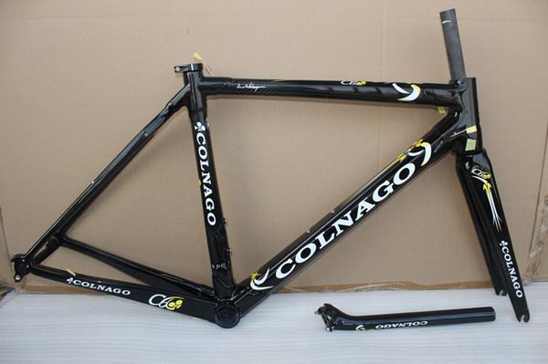 2018 Carbon Road Frame Colnago C60 Shiny cadre carbone velo T1000 carbon fiber road bike bicycle frame set