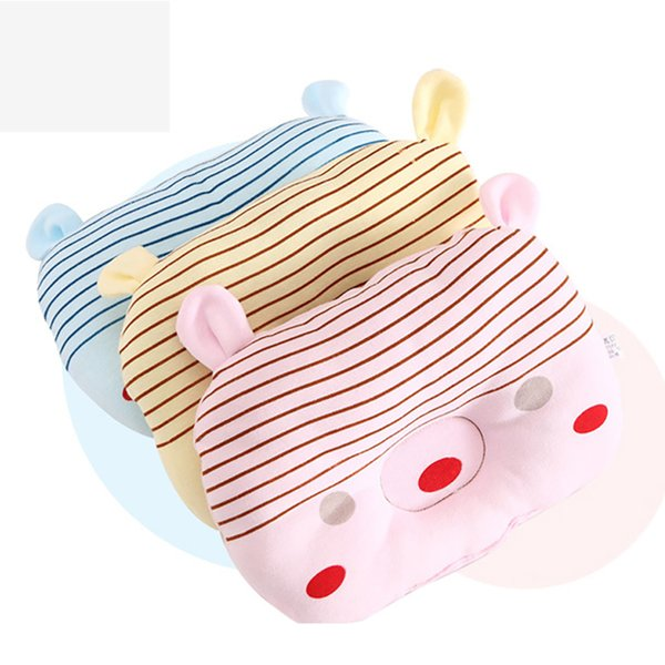 Baby Cotton Cartoon Pillow Infant Headrest Sleep Positioner Anti Roll Cushion Newborn Sleeping Bedding Decor Room Accessory Z003