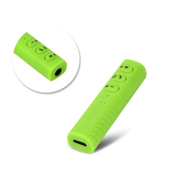Спорт Беспроводной Bluetooth 4.1 приемник 3.5 мм разъем аудио Музыка для iOS Android телефон наушники динамик