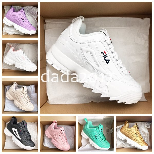 2018 New Disruptors 2.0 X Raf Simons Mens Trainers Womens Sneakers Big Sawtooth Ladies Casual Thick Bottom Increasing Running Shoes Sports