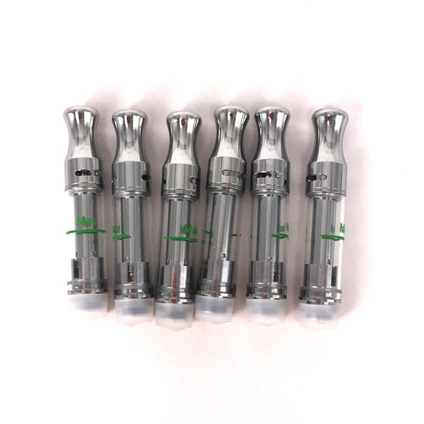 101 Cartridge Top Adjustable Airflow Metal Tip Ceramic Coil Glass Tank Wickless Thick Oil 510 Thread Vape Pen .5ml 1ml Cartridge Tanks
