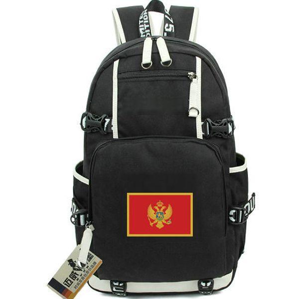 Montenegro mochila República da mochila Igreja Ortodoxa bandeira mochila mochila Bandeira nacional bolsa de lona Da Escola ao ar livre pacote de dia