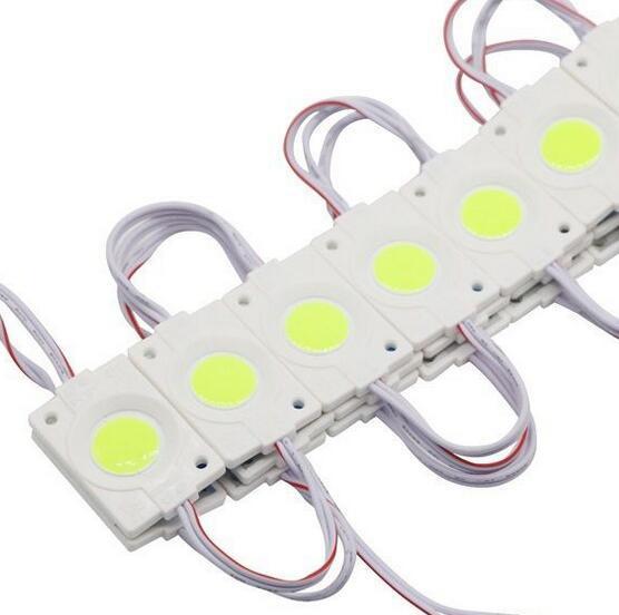 Frete grátis COB LED Módulo 2.4 W COB Publicidade Luz IP65 À Prova D 'Água Super Bright Led Backlights