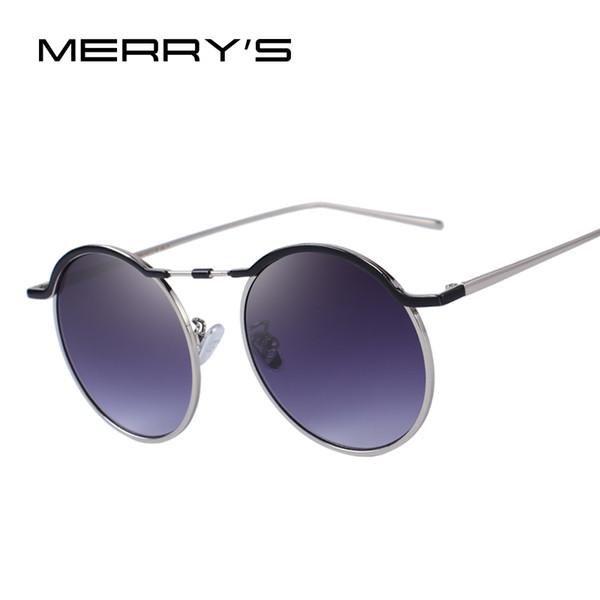 MERRY'S DESIGN Occhiali da sole rotondi moda donna Occhiali da sole designer firmati UV400 Protezione S'6120