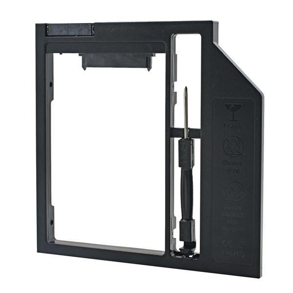 MJTEK High Quality Plastic 2nd HDD Caddy 9.5mm 9MM 22Pin SATA to 13Pin SATA for 2.5
