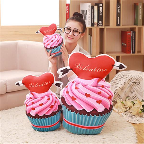 SBB Sweet gift lovely Office Siesta pillow cushion ice cream cones Chocolates cake heart decorativos para sofa pillow Bedroom