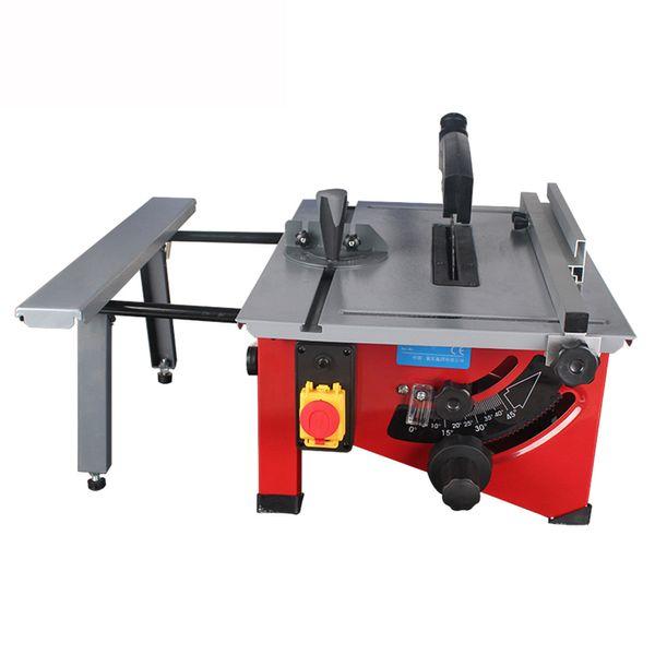 top popular New 8-inch Sliding Woodworking Table Panel Saw DIY Wood Circular Saw Cutting Machine 220-240V Wood Board Cutter Electric Saws 2021