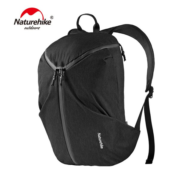 Naturehike NH18G020-L Outdoor 15.6in Laptop Backpack Water Resistant Travel Computer Rucksack School Bag Climbing Hiking