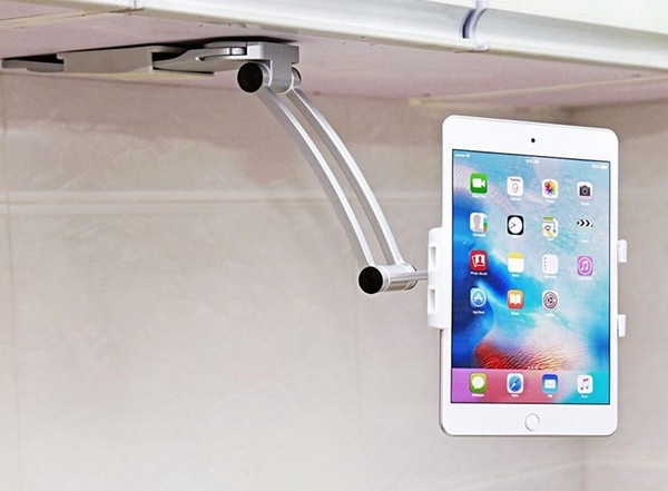 2019 Kitchen Tablet Mount Stand 2 In 1 Kitchen Wall Tablet Mount Holder For  5 10.5 Inch Tablet PC Mobile Phone For Ipad For Samsung Galaxy Tab From ...